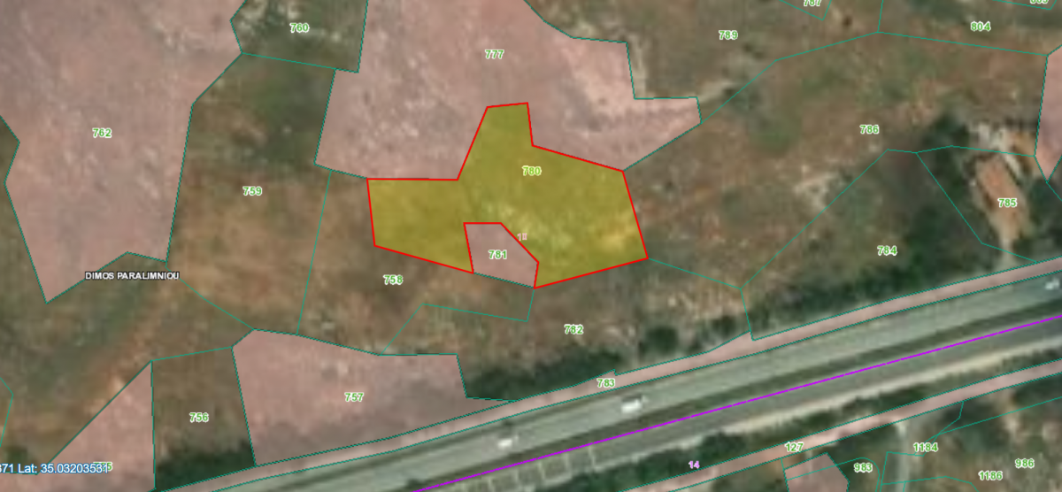 Agriculture Land for sale in Paralimni area