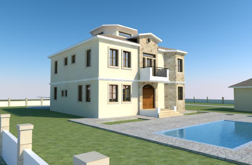 Six Bedroom Luxury Villa located on the Outskirts of Frenaros Area