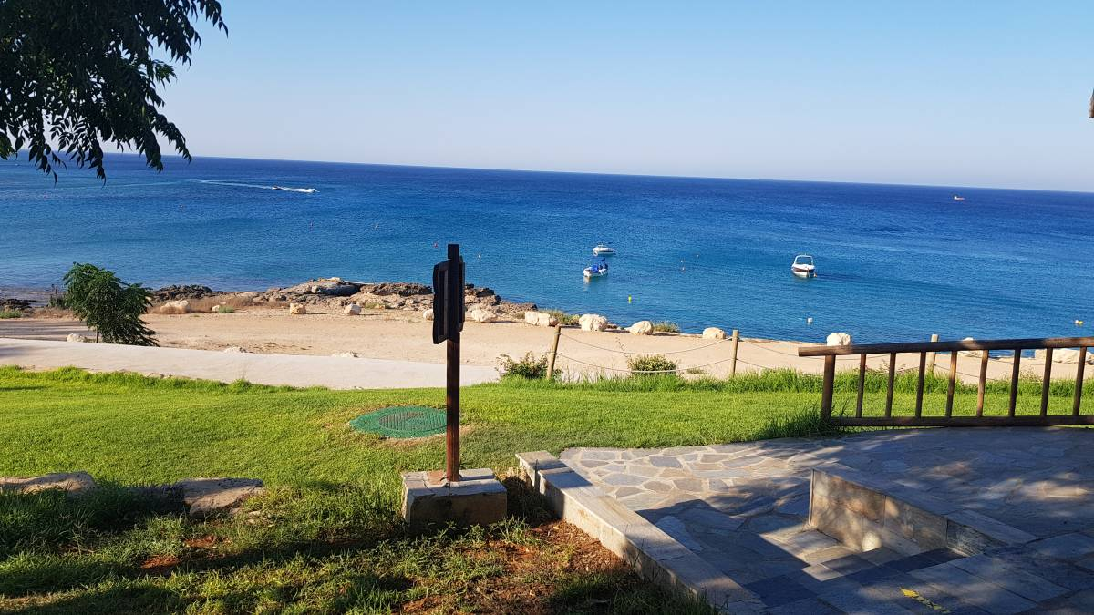 A stunning beach front Plot in Cape Greco area!!